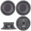 "4x Eminence Beta-8CX Pro 8"" Coaxial Midrange Mid-Bass Woofer 500W Speaker"