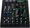 Mackie ProFX6v3 6-Channel USB Professional Effects Mixer, Carrying Bag & Cables