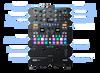 """2x Rane TWELVE MKII 12"""" Turntable + 1x Rane Seventy Mixer + Cases & Accessories"""