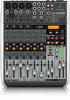 Behringer QX1204USB 12-Input 2/2-Bus Mixer w XENYX Mic Preamps and Compressor