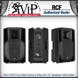 """RCF ART712-A MK4 Active 2Way Professional 12"""" Powered PA Speaker 1400W Amplified"""