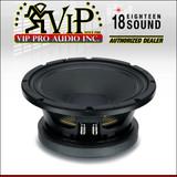 "Eighteen Sound 10MB600 Mid-Bass Mid-Range 18Sound Replacement 10"" Speaker 1500W"