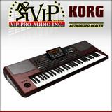Korg PA1000 61-Key PRO Arranger Light Weight Keyboard + Gator GK-61 Case+ KSP100