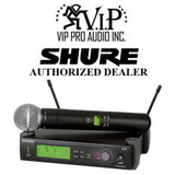 Shure SLX24/SM58-G4 Handheld Wireless Microphone System with SM58 MIC