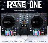 "Rane ONE 2 Channel 7"" Motorized Turntable Style Decks Professional DJ Controller"