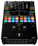 Pioneer DJM-S7 DJ Scratch-style 2-channel Performance DJ Battle Mixer (Black)