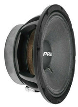 "PRV Audio 8MR600X-4 8"" X-treme Mid-Range Replacement Speaker 600-Watts 4 Omhs"