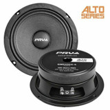 "4x PRV 6MR200A-4 6.5"" Mid-Range Car Audio Shallow Loudspeaker 200W 4-Ohm 94dB"
