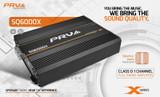 PRV Audio SQ6000X 2-Ohms Monoblock Car Amplifier 6000W at 13.0 V Full-Range AMP.