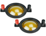 2x PRV RPD290Py Replacement Diaphragm for D290Py-S, D290Py-B and WG290Py Drivers