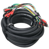 ProX XC-MEDOOZA75 75ft 10 Channel RCA 3 Power Cable Car Audio Medooza Cable