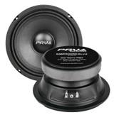 4x PRV Audio 6MR300Seal V2 Sealed Basket Midrange Car Audio Speaker 300W 8-Omhs