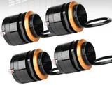 "4x PRV Audio TW400TI-ND-4 1"" Bullet Super Tweeter Program Power 120 Watts 4-Ohms"