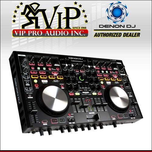 Denon DJ MC6000MK2 DJ Controller w/ Built in 4-Channel Mixer