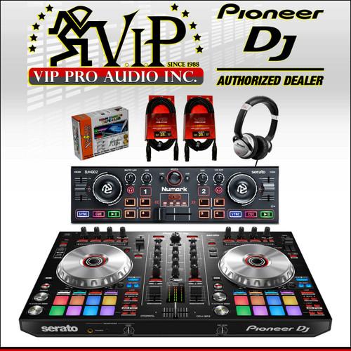 Pioneer DJ DDJ-SB3 2-CH DJ Controller for Serato DJ + Numark
