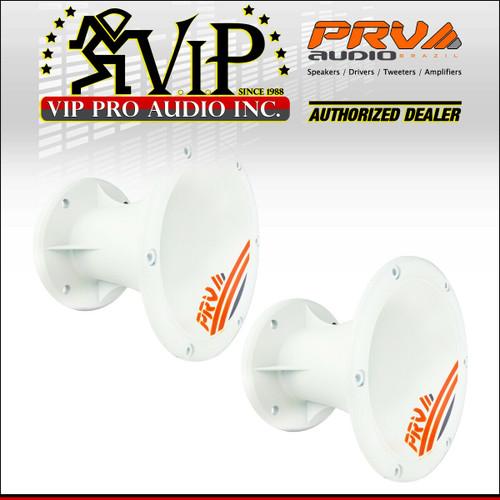 "PRV Audio WGP14-50 Blue Chrome 2/"" 45 x 45 Waveguide 4-Bolt"