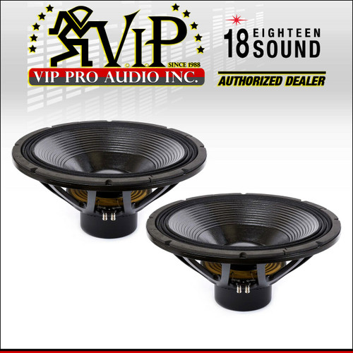 """15/"""" Speaker Driver PA Woofer 4/"""" Voice Coil Neodymium Chassis 8 Ohm 800w PD 15NW"""