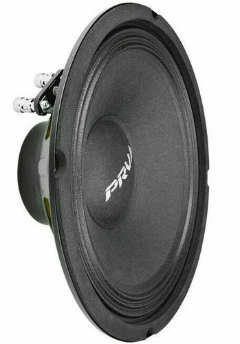 """PRV 8MR500-NDY-4 V2 8"""" NEODYMIUM Mid-Range Woofer 4-Ohm 500W Car Audio Speaker"""