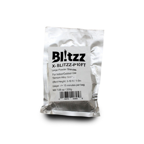 4x ProX X-BLITZZ-P10FT Blitzz Large Powder Cold Spark Effect Granules 3-10ft