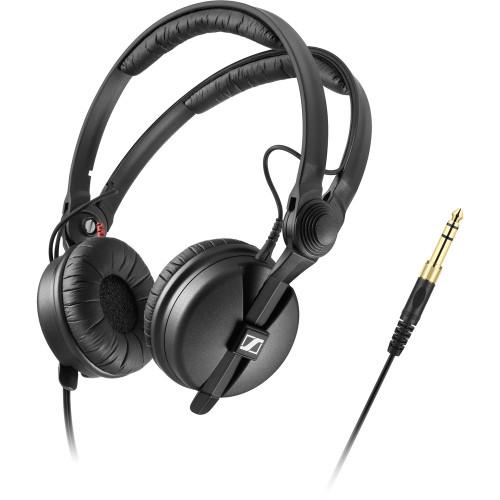 Sennheiser HD 25 DJ Headphones with Rotatable Capsule For Single-Ear Listening