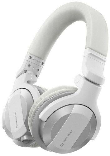 Pioneer HDJ-CUE1BT W Folding Wireless DJ headphones w/Bluetooth Technology WHITE
