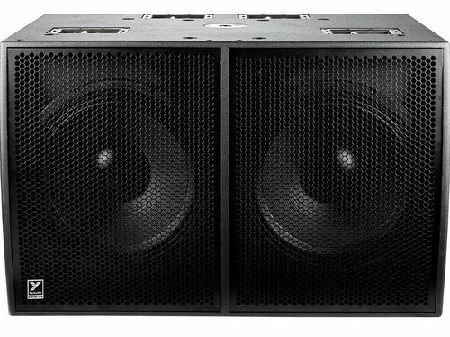 """Yorkville Sound SA221S Dual 21"""" Synergy Array 6000W Active Portable PA Subwoofer"""
