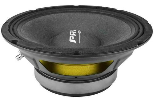 "PRV 10MR650A 10"" Mid Range Car Audio Speaker 650W, 8-Ohm, 97.5 dB, 80-6,500 Hz"