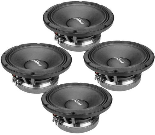 "4x PRV AUDIO 10MB1000FT 10"" Mid Bass, Aluminum Basket 3"" VC, 500W FORTE Series"