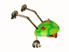"""Copper Jumping Frog - 10"""" Overall Length"""