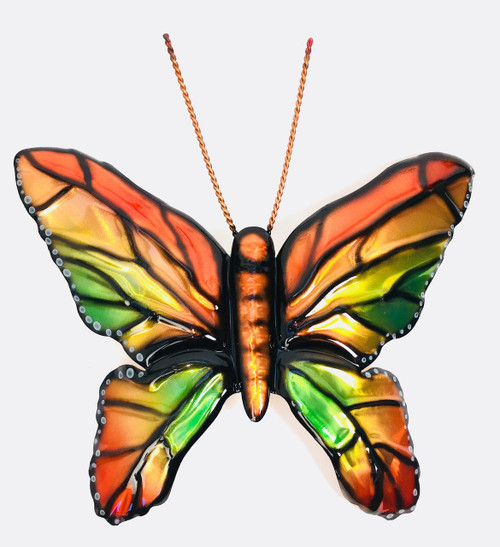 """Large Copper Wall Butterfly 12"""""""