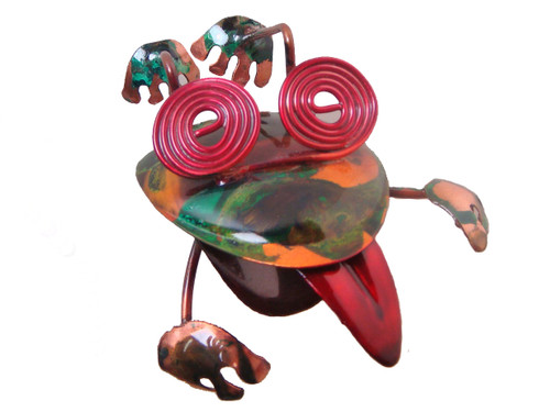 """Copper Jumping Frog - 6"""" Overall Length"""