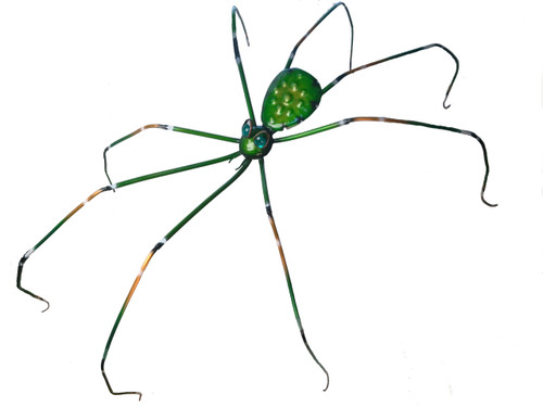 """Copper Crawling Spider - 48"""" Overall Length - Oversized Item - CONTACT US FOR SHIPPING & ORDER INFO."""