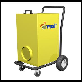 6000V Airwash Cart HEPA Air Filtration System