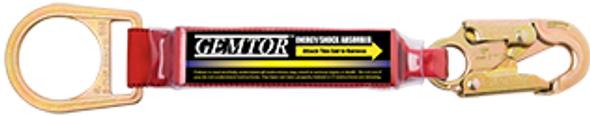 GEMTOR Soft-Pack Energy Absorbing Lanyards - Shorty