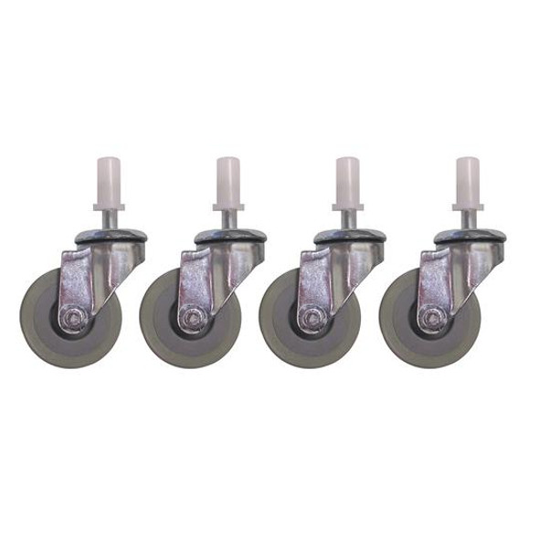 ETTORE Super Bucket Casters/Wheels (Pack of 4)
