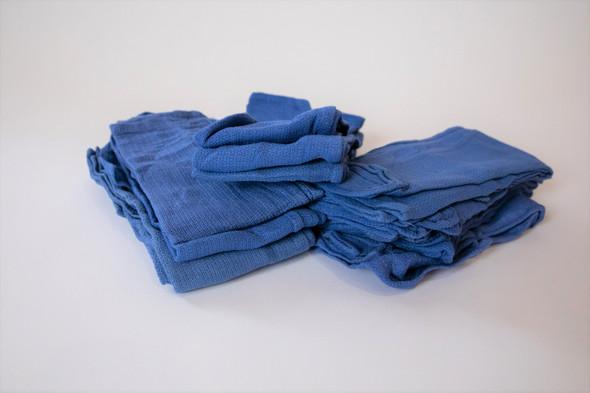 Towels New/Prewashed Blue