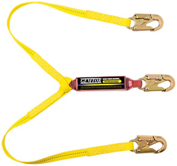 GEMTOR 2 Leg Lanyard 100% Tie-Off