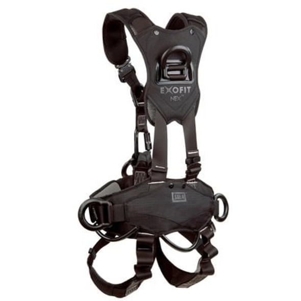 3M™ DBI-SALA® ExoFit NEX™ Comfort Rope Access Climbing/Positioning/Rescue/Suspension Safety Harness