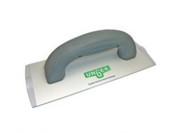 UNGER 8 Inch SpeedClean Aluminum Pad Holder For Hand-Held Use