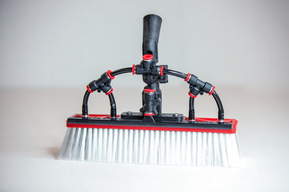 Tucker Water Fed Brush Alpha Boar and Nylon Bristle Hybrid