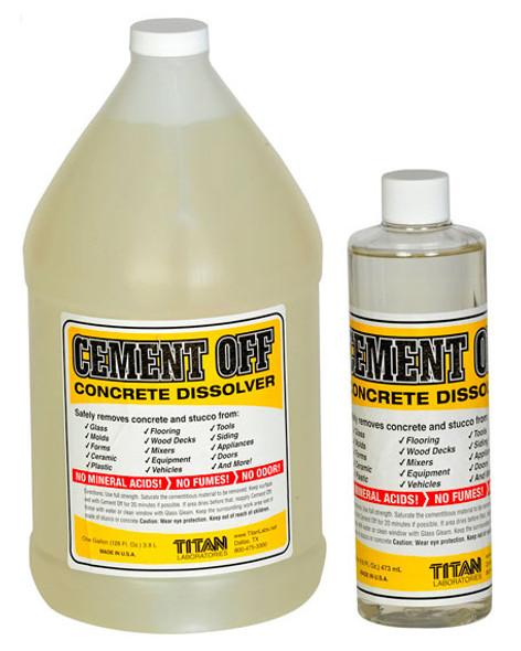 TITAN LABS Cement-Off™ Concrete Dissolver - 4 Gallon Case