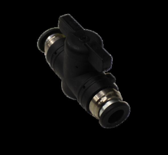 "TUCKER Inline Ball Valve for 5/16"" Pole Tubing"