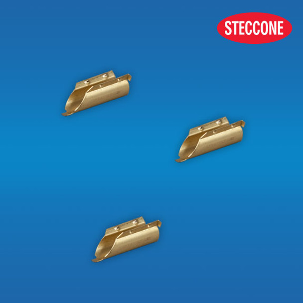 STECCONE Brass Channel End Clips