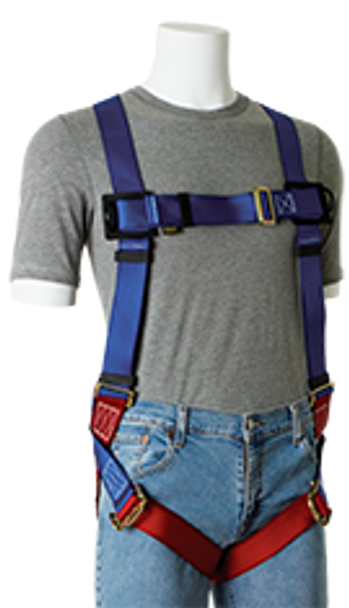 GEMTOR 932 Series - Friction Buckles Basic Harness