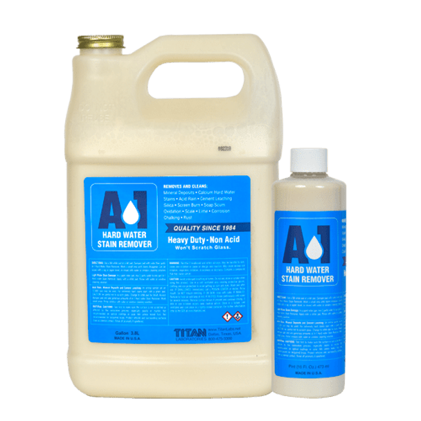 A-1™ Hard Water Stain Remover and Metal Polish - Pint