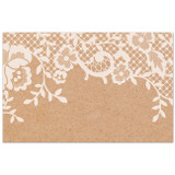 Sweet Addiction gift card gift tag lace