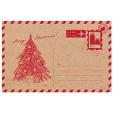 Sweet Addiction gift card gift tag red christmas