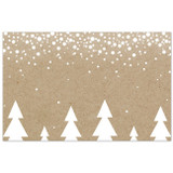Sweet Addiction gift card gift tag white christmas