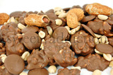Milk chocolate peanut clusters