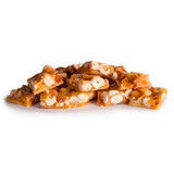 Peanut brittle toffee caramelised caramel